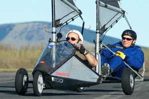 Blokart Demo at Wigram Airbase